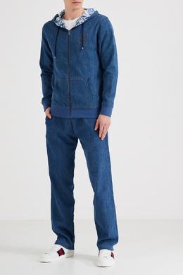 Синий трикотажный костюм Billionaire 1668135694