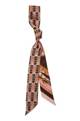 Двухсторонний шелковый шарф Fendi 1632135353