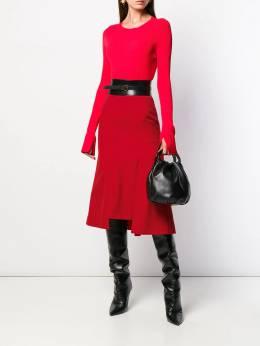 Alexander McQueen - расклешенная юбка миди 093QJAAC959535660000