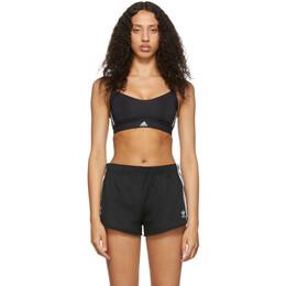 Adidas Originals Black All Me 3-Stripes Sports Bra DU1290