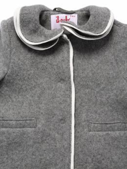 Пальто Из Шерстяного Фетра Il Gufo 70I8Z9025-MDcxMA2
