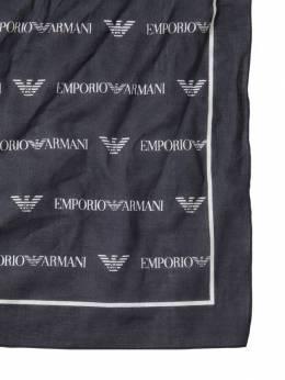 Хлопковый Шарф С Принтом Emporio Armani 69I8Z3018-MDAwMzU1