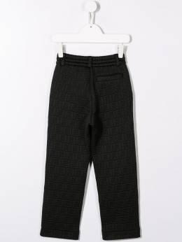 Fendi Kids - брюки с логотипом FF 093A3LN9595336600000
