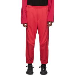 Juun.J Red Plain Lounge Pants 192343M19000404GB
