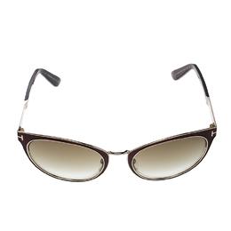 Tom Ford Brown TF373 Nina Cat Eye Sunglasses 127459