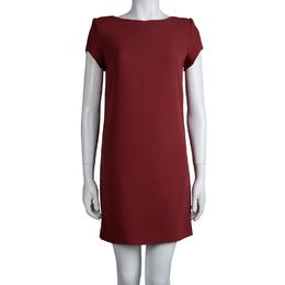 Saint Laurent Paris Red Shift Dress S