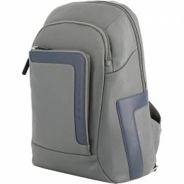 Piquadro Two Tone Leather Backpack 157884