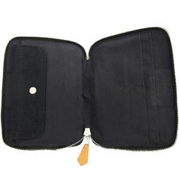 Hermes Two Tone Cotton Fourre Tout Document Purse Bag 160924