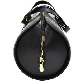 Louis Vuitton Noir Epi Leather Soufflot Bag 186571