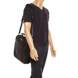 Montblanc Brown Leather Messenger Bag 185479