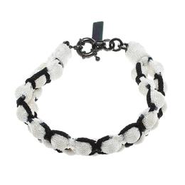 Missoni Monochrome Roped Double Ball Bracelet