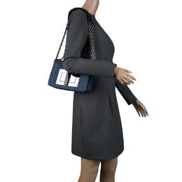 Tom Ford Blue Denim Natalia Crossbody Bag 136974