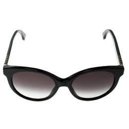 Fendi Black/Black Gradient FF0013/S Cat Eye Sunglasses 133621