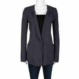Boss by Hugo Boss Orange By Hugo Boss Grey Lace Insert Detail Orestina Blazer S