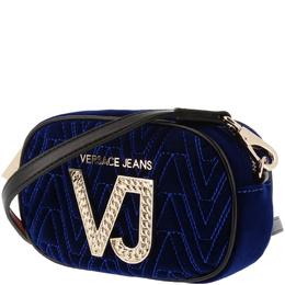 Versace Jeans Bue Signature Fabric Crossbody Bag 161979
