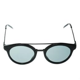 Fendi Black FF 0225/S Round Sunglasses 175561