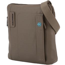 Piquadro Brown Leather Messenger Bag 194630
