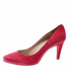 Miu Miu Pink Suede Pumps Size 41.5 177867