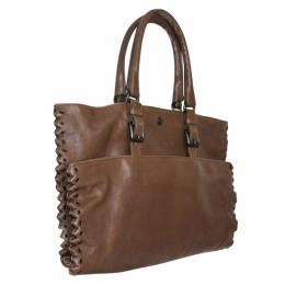 Bottega Veneta Brown Leather Tote 109877