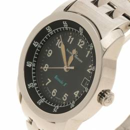 Baume&Mercier Black Stainless Steel Formula 1 Men's Wristwatch 33MM 128438