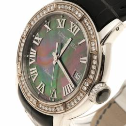 Raymond Weil Mother of Pearl Parsifal Alligator Leather Women's Wristwatch 40MM 110416