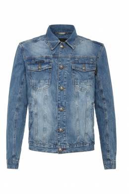 Джинсовая куртка с вышивкой и надписями Philipp Plein 1795136779