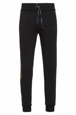 Спортивные брюки с пламенем Philipp Plein 1795136803