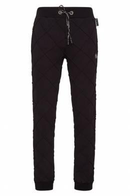 Спортивные брюки с рельефными швами Philipp Plein 1795136801