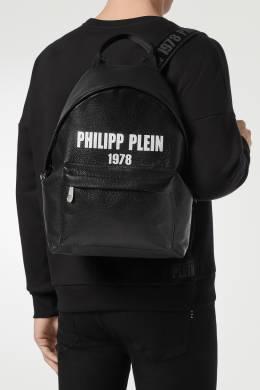 Рюкзак из кожи с надписью Philipp Plein 1795136690