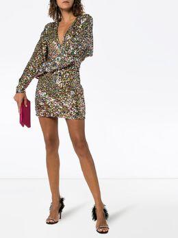 Attico - платье мини с пайетками WCA68H69060995639005