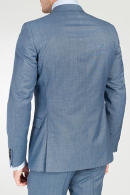 Голубой пиджак в клетку Strellson 585136645