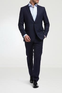 Синий удлиненный пиджак Strellson 585136552