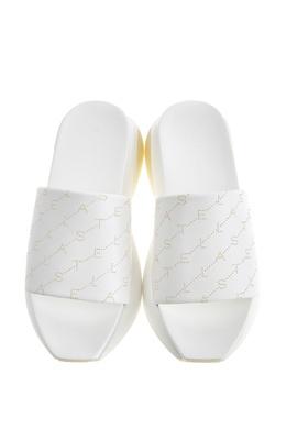 Белые пантолеты с монограммами Eclypse Stella McCartney 193137228
