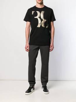 Billionaire - футболка с вышивкой CMTK3505BTE695N95680
