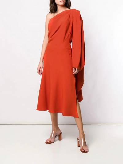 Esteban Cortazar - платье на одно плечо 90936630950000000000 - 2