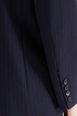 Полосатый костюмный блейзер Maje 888137489