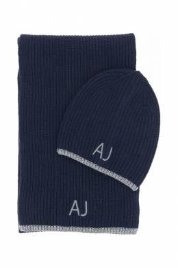Комплект: шапка, шарф Armani Jeans 82978