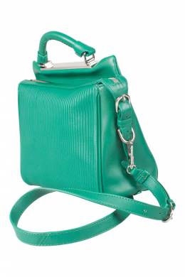 3.1 Philip Lim Green Leather Ryder Top Handle Bag 3.1 Phillip Lim 203403