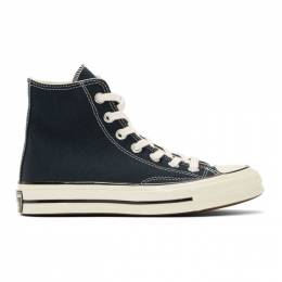 Converse Navy Chuck 70 High Sneakers 192799F12701103GB