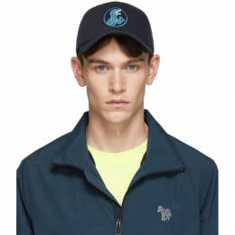 Ps by Paul Smith Navy Dino Cap M2A-987C-ADINO