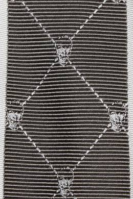 Серый галстук с узором Philipp Plein 1795138389