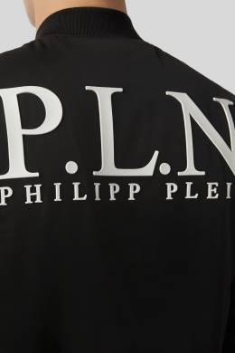 Черная ветровка с надписью Philipp Plein 1795138455