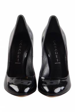Casadei Black Patent Leather Pumps Size 37