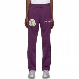 Moncler Genius 8 Moncler Palm Angels Purple Logo Patch Lounge Pants 192171M19000502GB