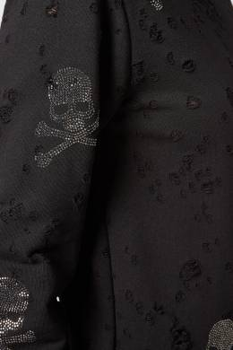 Свитшот с прорезями и черепами Philipp Plein 1795139135