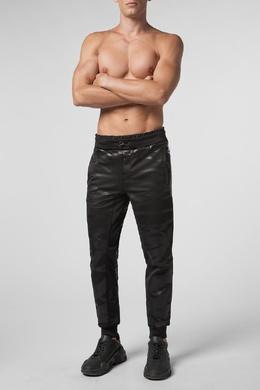 Спортивные брюки с глянцевым узором Philipp Plein 1795139074
