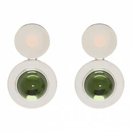 Marni Green Mod Screw Earrings 192379F02200401GB