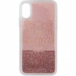 Kenzo Pink Glitter Tiger Head iPhone X/XS Case 192387M15300301GB