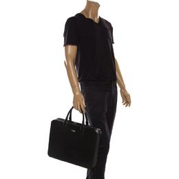 Montblanc Black Leather Meisterstück Briefcase 206297