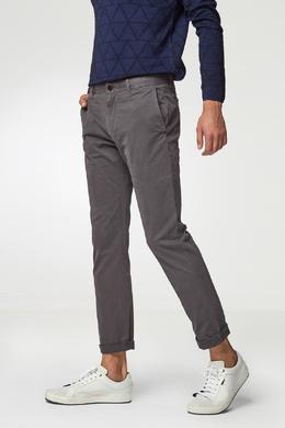 Легкие брюки серого цвета Strellson 585139360